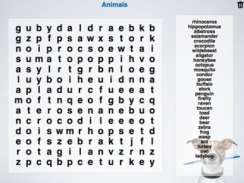 Games with Animals for iPad, Chromebook and PC
