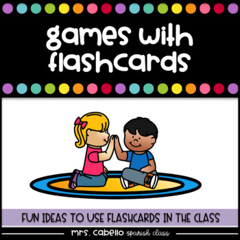 Games with flashcards