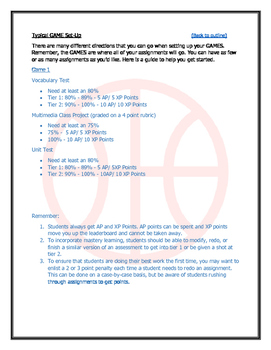 Gamification: Basketball Edition. Gamify Your Classroom!