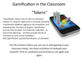 Gamification Tokens