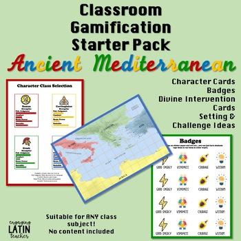 Gamification for Education: Mediterranean Starter Pack
