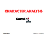 Gamified Character Analysis Template