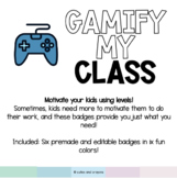 Gamify My Class