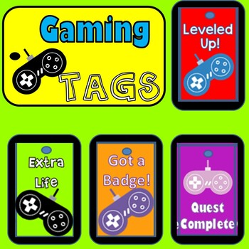 Gaming Brag Tags