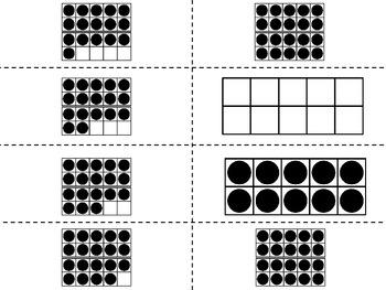 Gana el marco 10 - A Bilingual Tens Frame Game