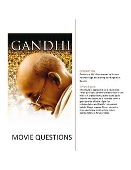 Gandhi (1982) Movie Questions