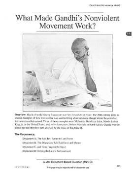 Gandhi: DBQ