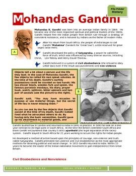 Gandhi - File Folder History