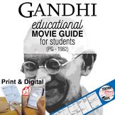 Gandhi Movie Guide   Questions   Worksheet (PG - 1982)