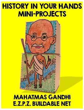 Gandhi / Paper Craft Project