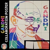 Gandhi Collaborative Poster: Great for International Day o