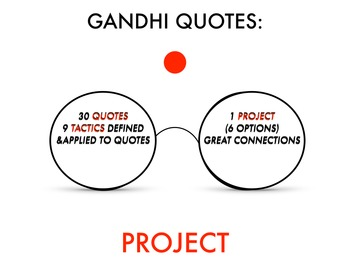 Gandhi Quote Project