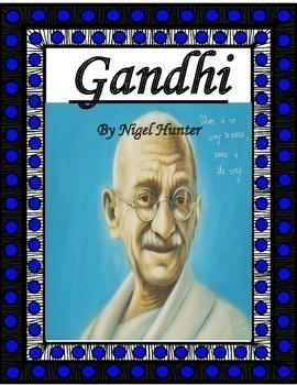 Gandhi by Nigel Hunter