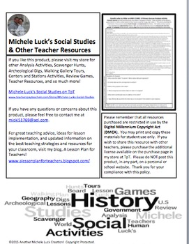 Gandhi to Hitler WWII World War II Letter Primary Source Analysis Activity WW2