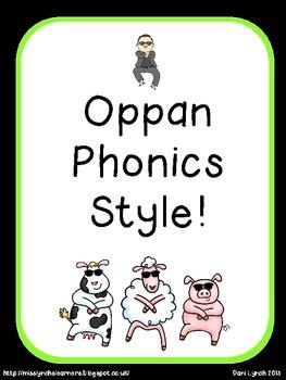 Gangnam Phonics Style!