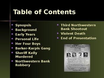 Gangsters & Outlaws - Ma Barker, Gang Leader