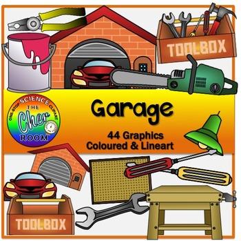 Garage Clipart (My Home Series 2)