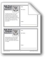 Garage Sale (Grade 6+ Daily Word Problems-Week 2)