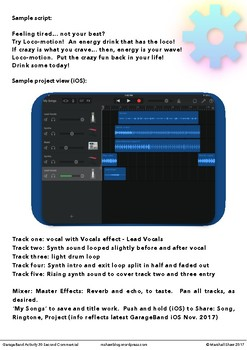 GarageBand Activity 30 Second Commercial (iOS and Mac)