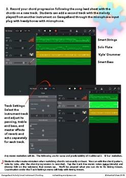 GarageBand Activity Smart Instrument Chording