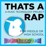 Music Tech Project 10: That's a Rap (Beat)