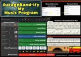 GarageBand-ify My Music Program Poster A3