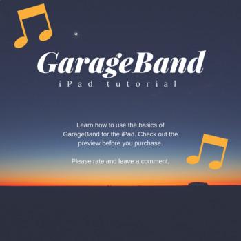 GarageBand tutorial for the iPad