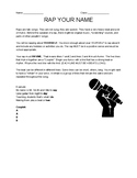 Garageband for iPad - Rap Assignement