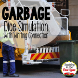 Garbage Dice Simulation with Writing Connection