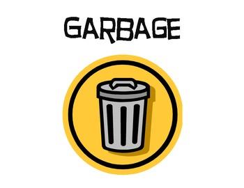 Garbage Sign
