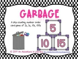 Garbage Skip Counting Card Games 2s, 5s, 10s, 100s