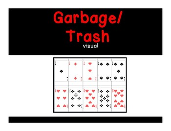 Garbage/Trash Card Game Visual