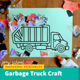 Community Helpers Craft / Garbage Truck Craft / Trash Coll