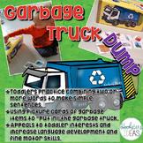 Garbage Truck Dump: Expressive Language Simple Sentence Building