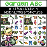 Garden ABC Initial Sound Match