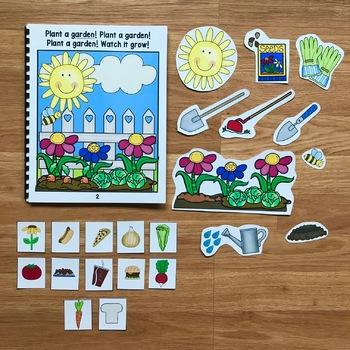 """Garden Adapted Song Book--""""Plant a Garden, Plant a Garden"""""""