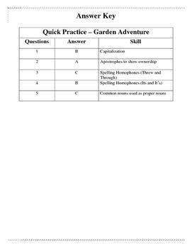 Garden Adventure - Quick Practice