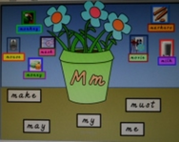 Garden Alphabet & Dolch Sight Word Dictionary & Display Cards