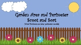 Garden Area and Perimeter Scoot and Sort