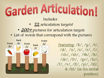Garden Articulation