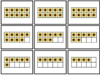 Garden Bear - A Ten Frame Number Recognition Game