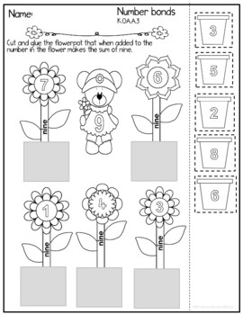 Garden Bear Math