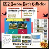 Garden Birds Project Journal, Activities, Puzzles & Games KS2