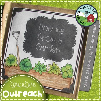 Garden Book Project - Classroom Activity or Agriculture/FFA Outreach Activity