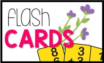 Garden Bright Math Labels