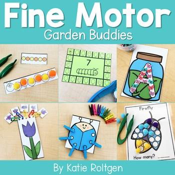 Garden Buddies Fine Motor Activities
