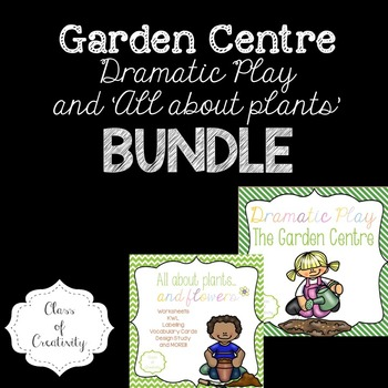 Garden Centre Bundle - Dramatic Play and Plants Pack