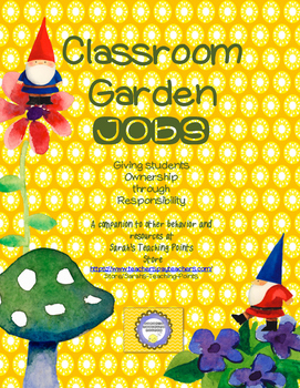 Gnome Garden Decor Jobs And Routines   Back To School Teacher Management!