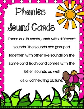 Garden Classroom Reference Cards- Alphabet, Phonics, Numbers, Shapes