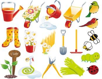 Garden Clip Art Garden Tool Garden Equipment Garden Element